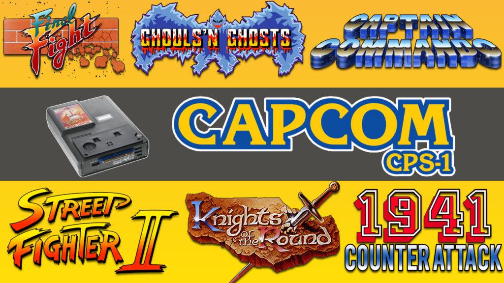 Arcade Capcom CPS1