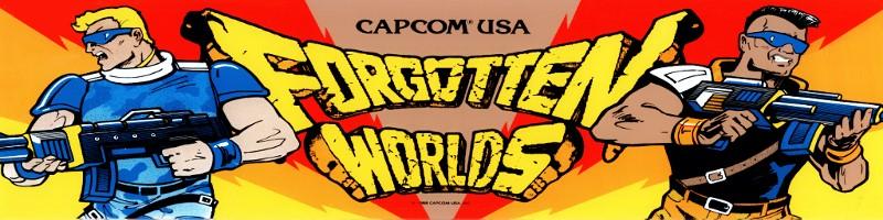 Forgotten Worlds - Capcom CPS1
